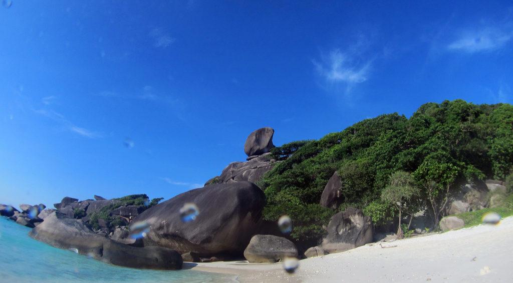 タイ プーケット ダイビング シミラン