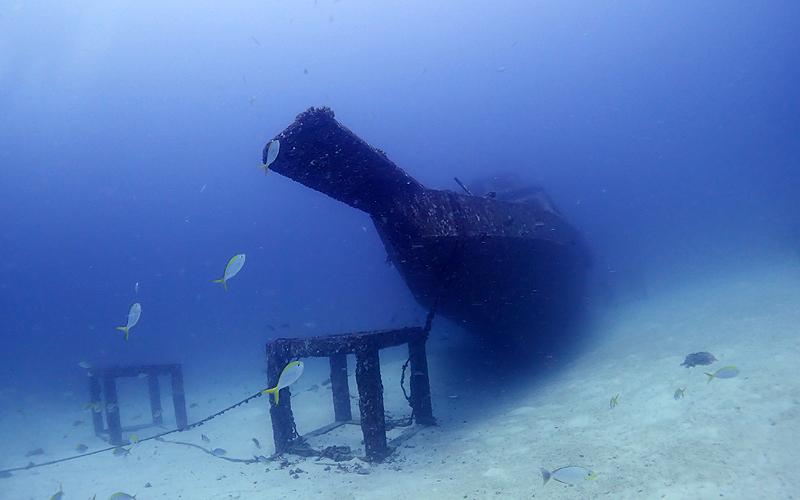 ラチャヤイ島 沈船(Herruby Wreck)