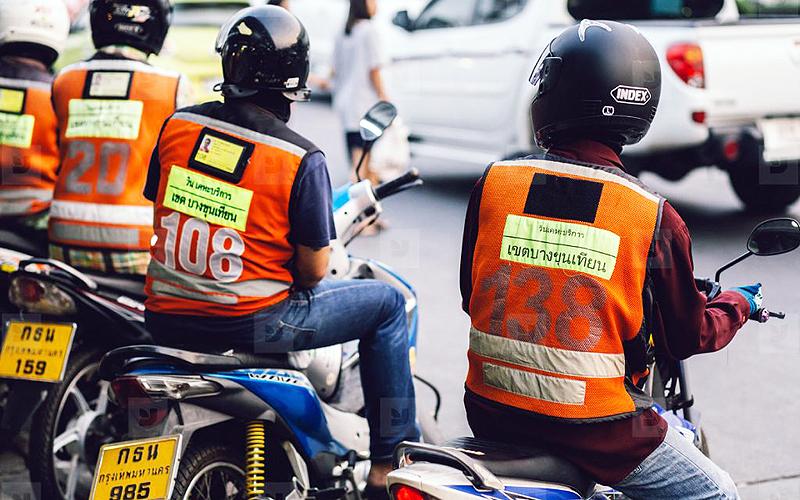 タイ プーケット ガイド 移動手段 バイクタクシー