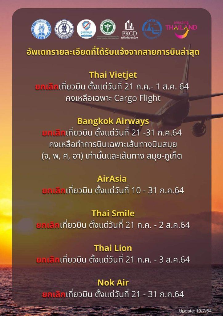 タイ プーケット コロナ感染予防対策 エア