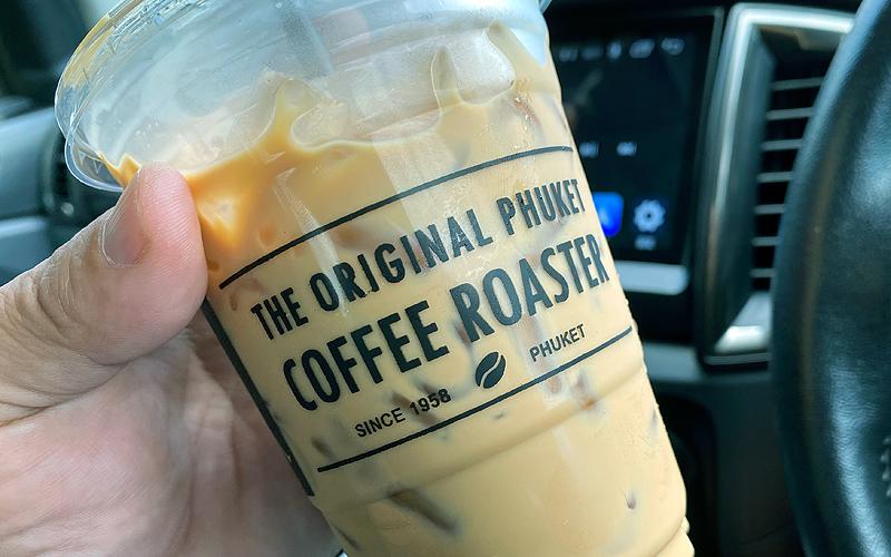 タイ プーケット ショッピング ホックホーリーコーヒーショップ